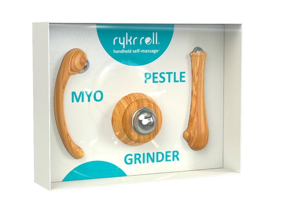 outils à main auto-massage rykr roll