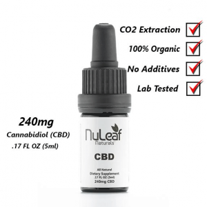 Nuleaf top ten CBD for entourage effect